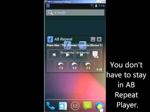 AB Repeat Player For Pc - Download For Windows 7,10 and Mac