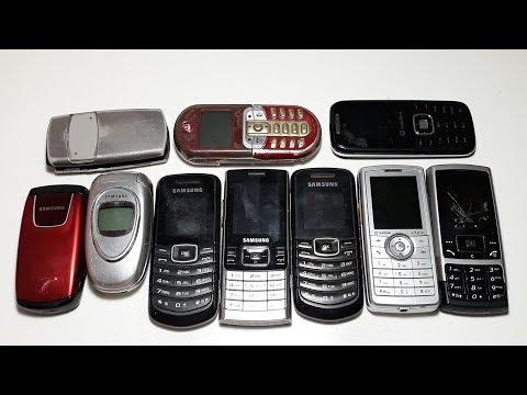 Телефоны под восстановление 10 штук за 6$ долларов. Samsung C130. Samsung e1080i. Samsung C200 Sagem