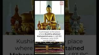 Kushinagar is an international Buddhist pilgrimage centre.