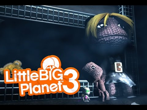 [Little Big Planet 3] HORROR Level Funny Moments! The Apartment (Survival Horror)