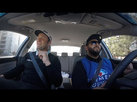 Z90's Pandar and PGA Golfer Jon Rahm in Caddie Karaoke!