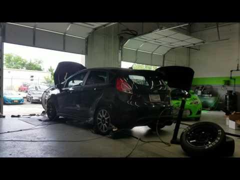 Dead Hook Motorsports Ford Fiesta ST GTX360R turbo kit - YouTube