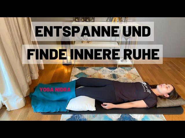 Yoga Nidra auf Deutsch | Finde innere Ruhe mit dem yogischen Schlaf