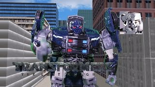 TRANSFORMERS: THE LAST KNIGHT - BARRICADE VS BUMBLEBEE [STOP MOTION] streaming