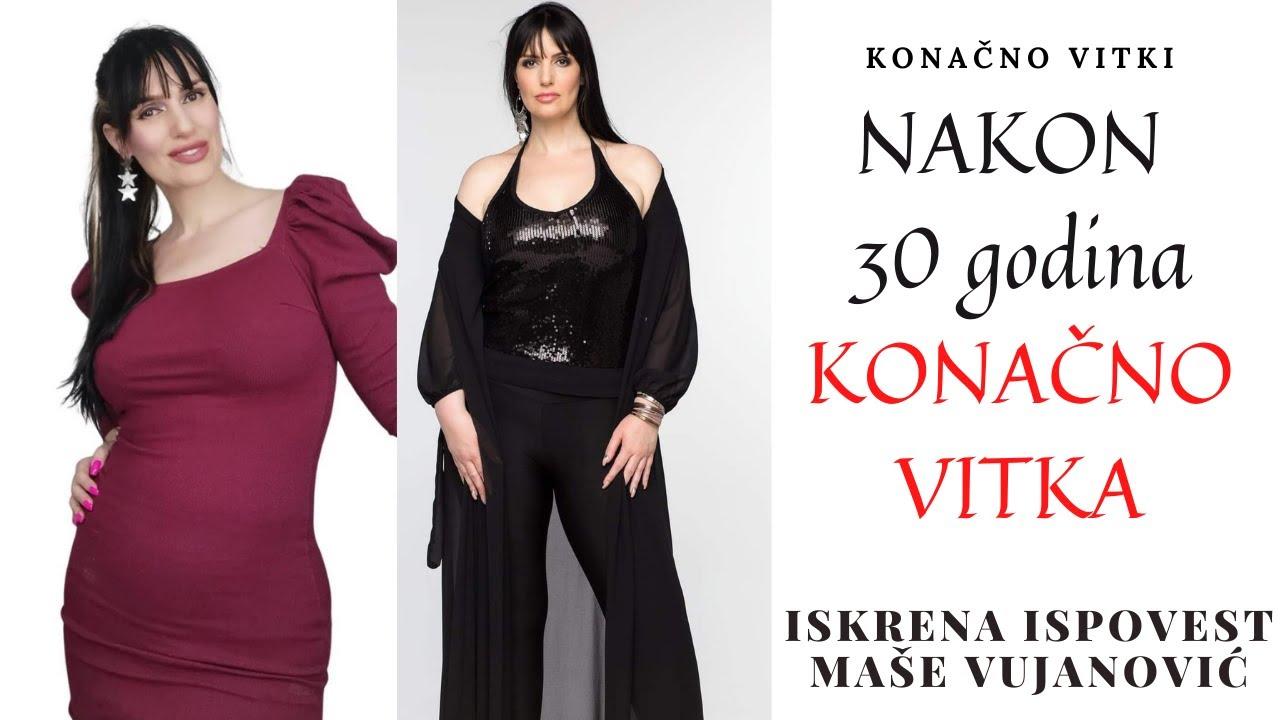Download Nakon 30 godina gojaznosti Konačno Vitka - Iskrena ispovest Maše Vujanović - Zivot u Americi