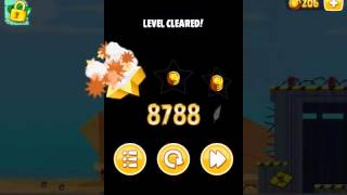 Angry Birds Seasons, Power-Up Test Site, 2, 49300