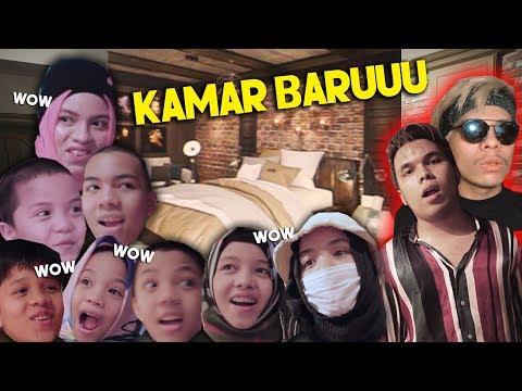 KAMAR BARU THARIQ! REAKSI ANAK-ANAK GEN HALILINTAR #PART2