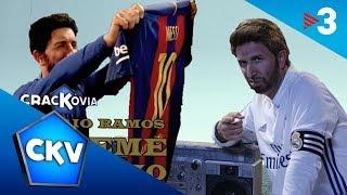 "Crackòvia - El Madrid-Barça a ""Súbeme la radio"" (paròdia de ""Súbeme la radio"" d"