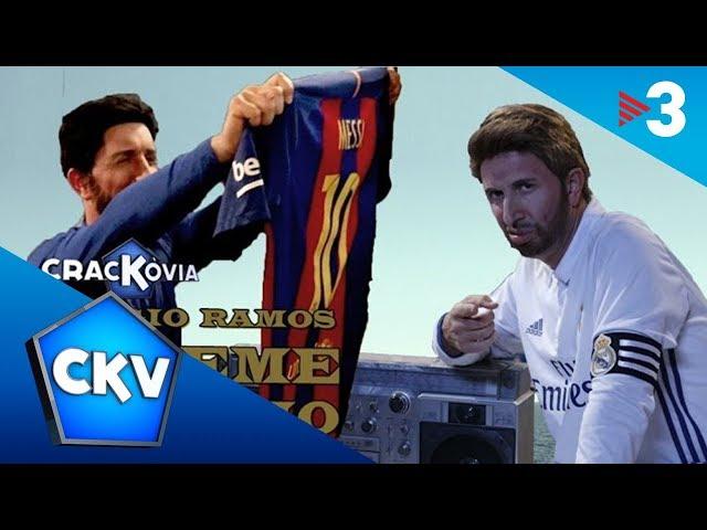 Esta parodia del 'Súbeme la radio' con los clones de Sergio Ramos y Luis Enrique arrasa en Internet