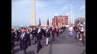 The Airborne Forces Reunion Parade, Blackpool, Sunday 1st June 2014