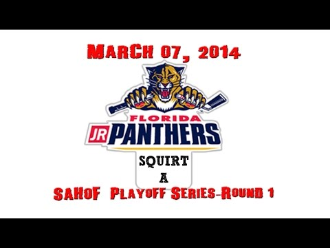 SAHOF Playoff's Round 1_Jr Panthers vs Golden Wolves_03-07-2014_Squirt A