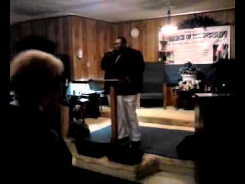 Pastor Shelby Allen Singing