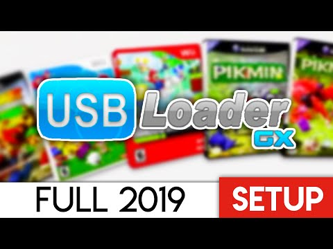 USB Loader GX Setup 2019 - Wii And GameCube Full Setup!
