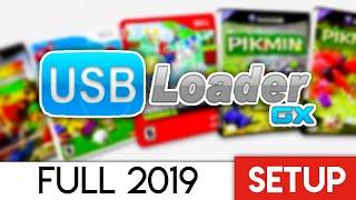 Usb Loader Gx Setup 2019 - Wii And Gamecube Full Setup!