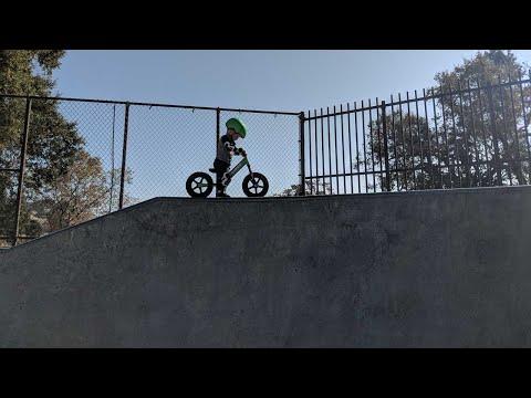 2 Year Old Shreds on Strider Balance Bike