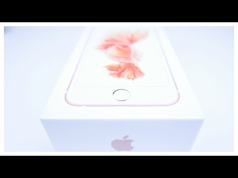 Apple iPhone 6S - Unboxing deutsch (ausführlich)