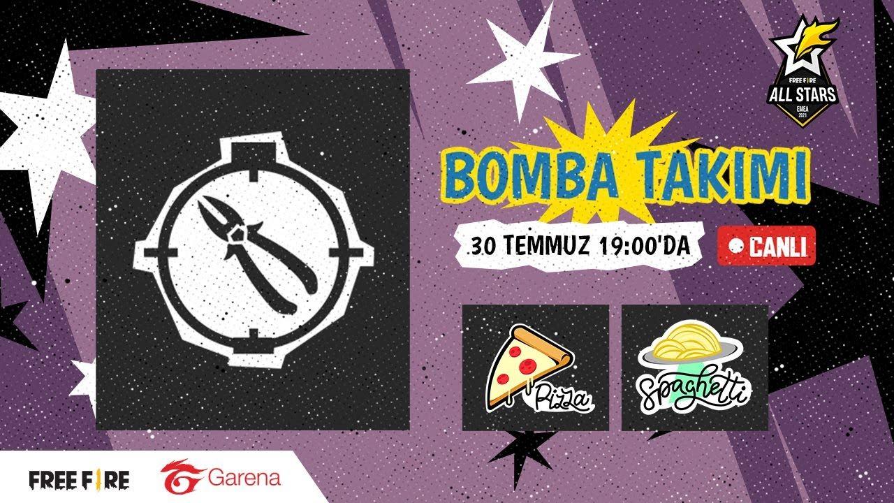 Free Fire All Stars EMEA - Bomba Takımı