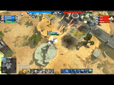AirMech gameplay preview - browser MOBA first impressions (2014)