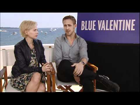 with Michelle Williams and Ryan Gosling for Blue Valentine