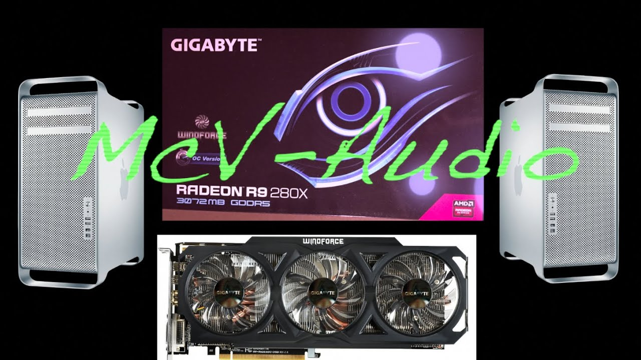 Mac Pro video card upgrade - How I flashed a R9 280X for a Mac Pro