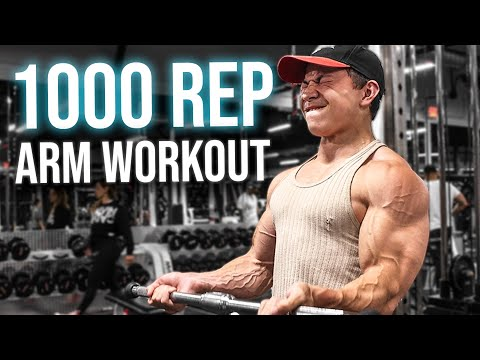 1000 REP ARM DAY CHALLENGE || Tristyn Lee