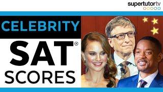 Celebrity SAT Scores!