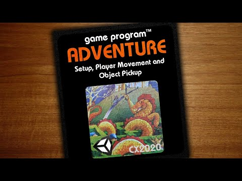 Adventure By Atari In Unity - Part 1 - Player Movement And Object Pickup