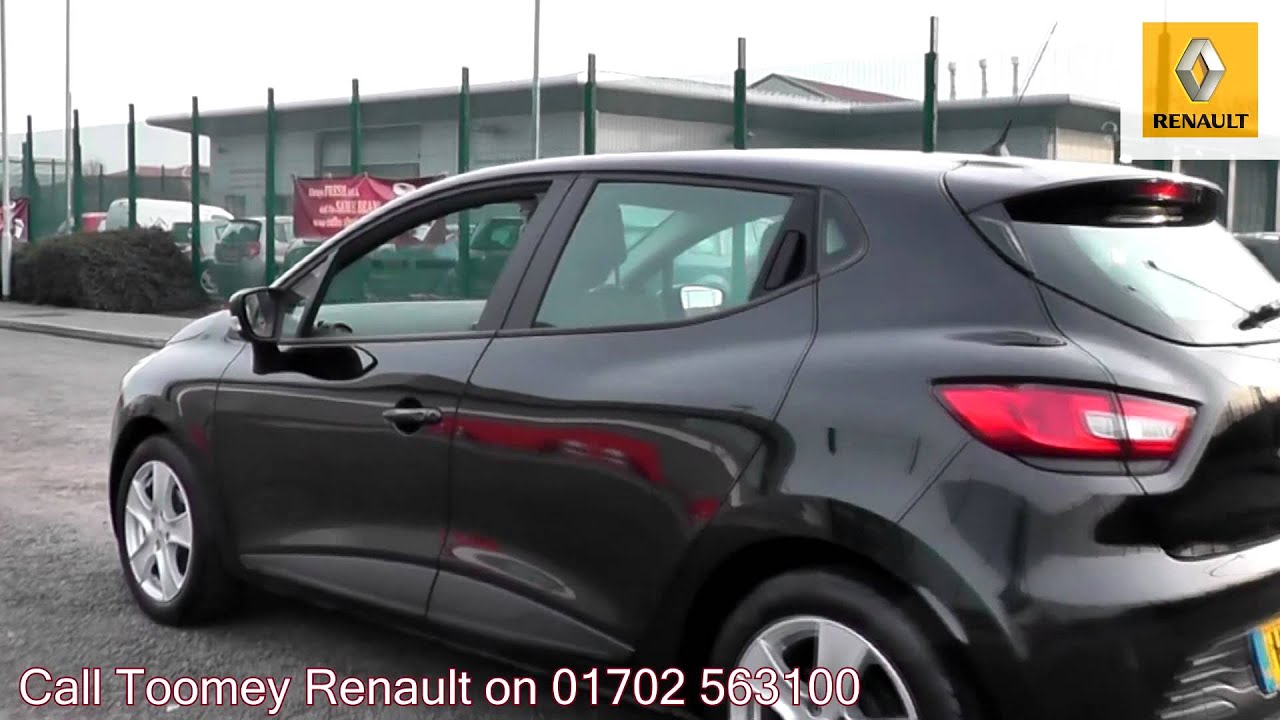 2013 Renault Clio 1 2 16v 75 Expression  Black Metallic