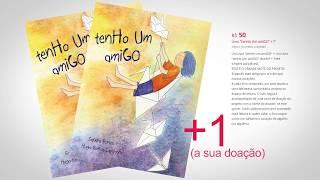 """Sandra Ronca e o livro """"tenHo um amiGO""""_ Campanha Benfeitoria"""