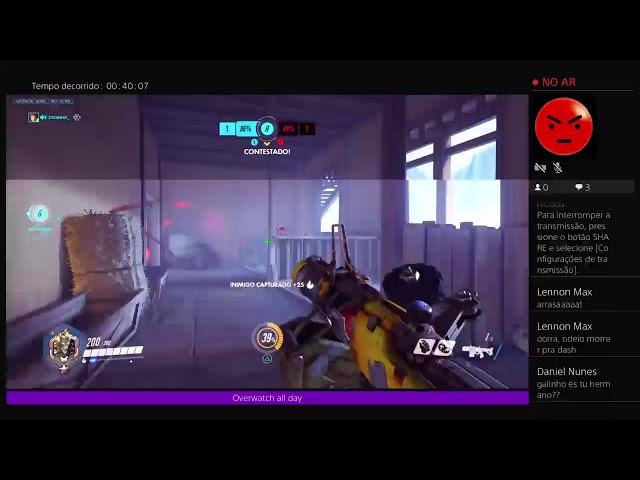 Transmissão ao vivo do PS4 de xRwwrrrrrx