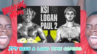"""KSI VS LOGAN PAUL REMATCH IS FINALLY HERE"" Reaction Pt.1"