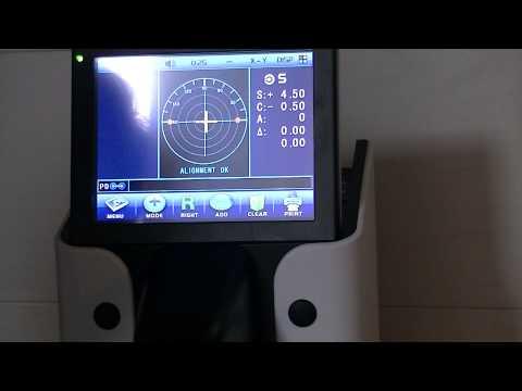 Démonstration Frontofocometre D 903 - Dugourd Echo Dme