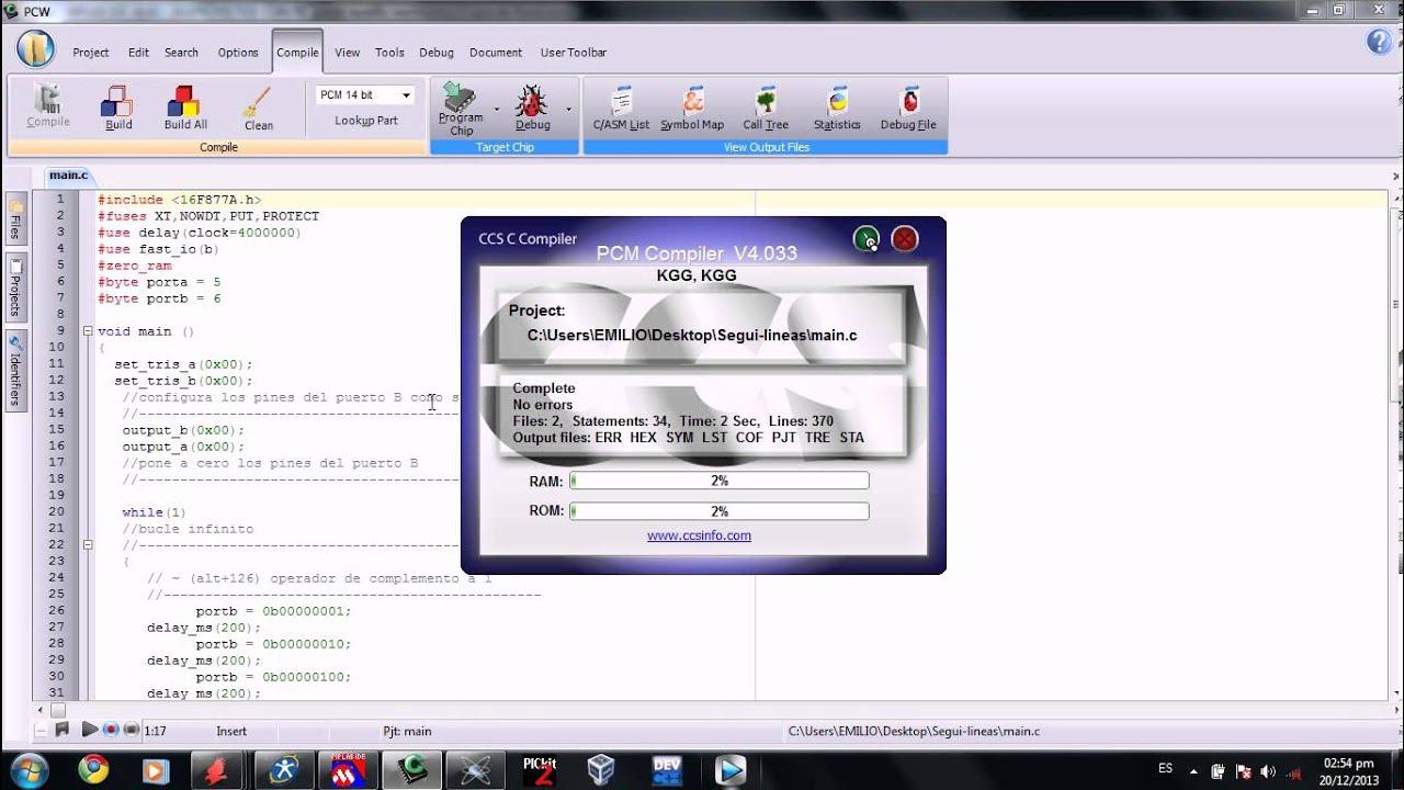 Descargar Programas De Electronica Basicos Pic C Compiler