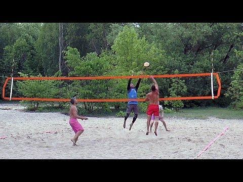 Пляжный волейбол. FullHD. Игра  за 1-е место. Полная версия