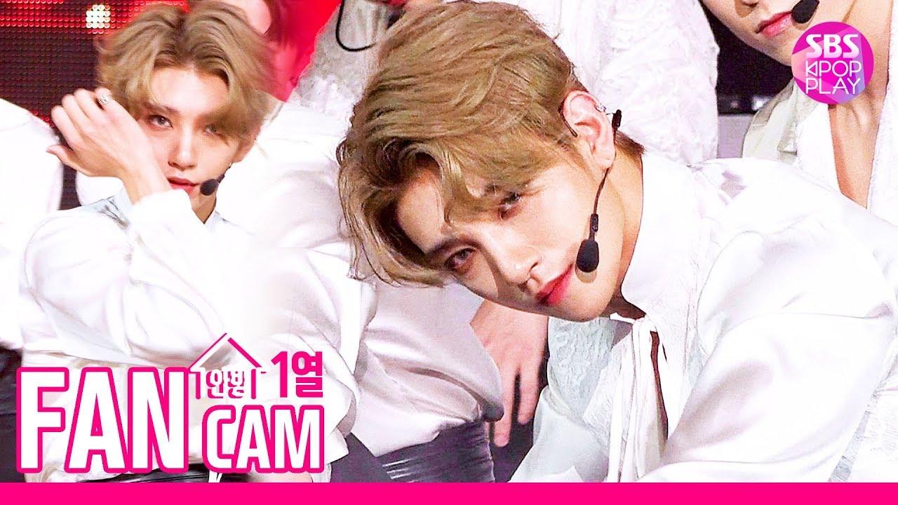 [안방1열 직캠4K] 세븐틴 조슈아 '독 : Fear' (SEVENTEEN Joshua Fancam)│@SBS Inkigayo_2019.10.6