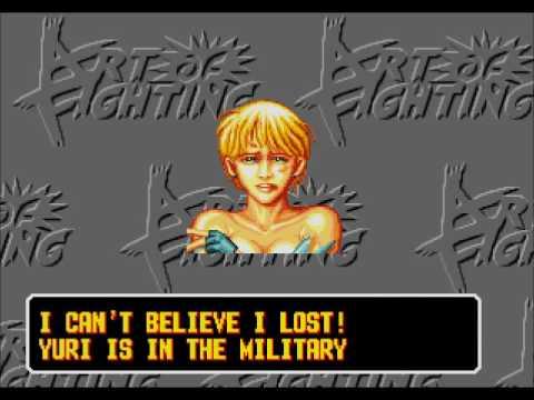 Art Of Fighting Sega Genesis Robert Youtube