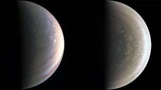 Jupiter seen by Juno (4K)
