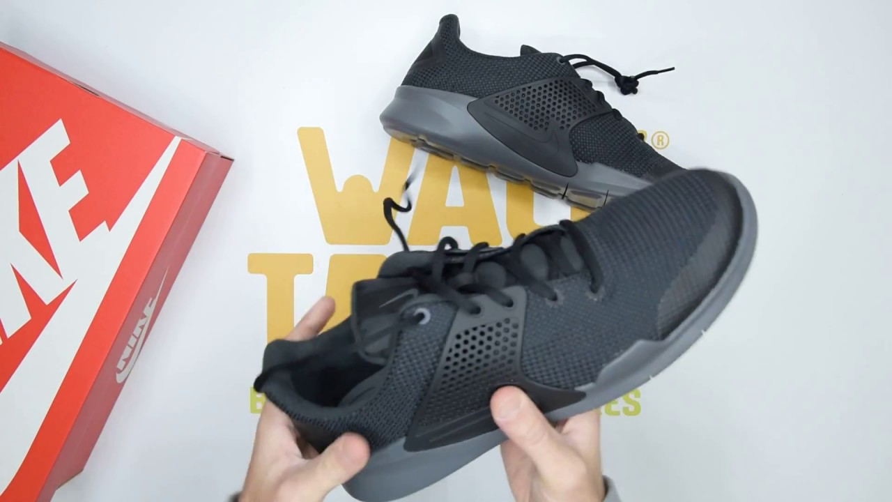 premium selection 0ac08 b54a8 Nike Arrowz SE - Black Grey - Unboxing   Walktall