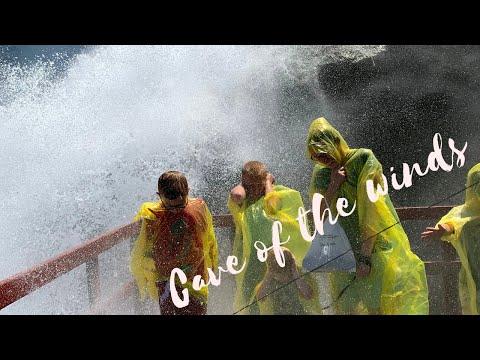 Niagara Falls NY Exploring Cave Of The Winds & Hurricane Deck
