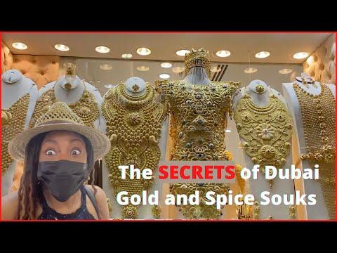 A Tour of Dubai Gold and Spice Souk | Inside Deira Old Souk Area