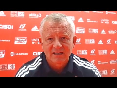 Sheffield United 0-2 Wolves - Chris Wilder - Post Match Press Conference