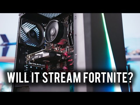 """Here's what streaming Fortnite looks like on a """"budget"""" PC"""
