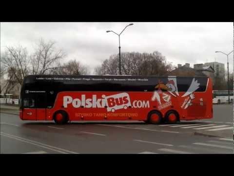 Polski Bus lini P5 Dworzec Autobusowy Metro Wilanowska