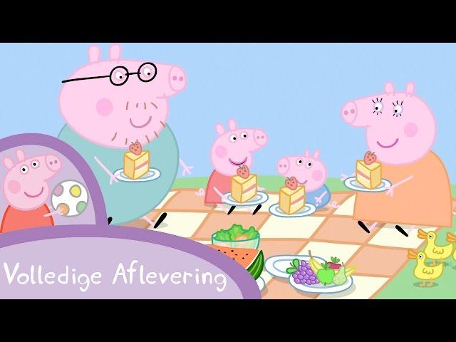 Peppa Pig Nederlands Compilatie Nieuwe Afleveringen | Picknicken | Tekenfilm | Peppa de Big