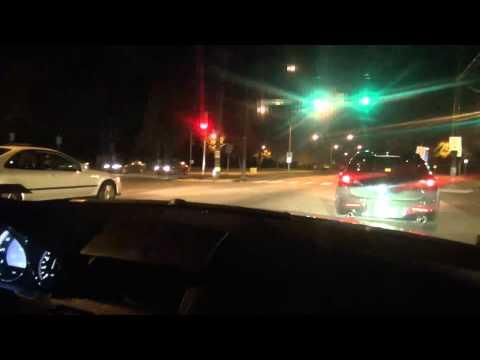 Mazdaspeed 3 w/ intake vs. Civice eg j series V6 swap dig race