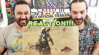 ASSASSIN'S CREED 3 - CINEMATIC TRAILER REACTION!!!