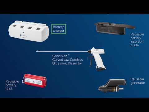 Sonicision Curved Jaw Cordless Ultrasonic Dissection System - In-Service Video 5 of 7
