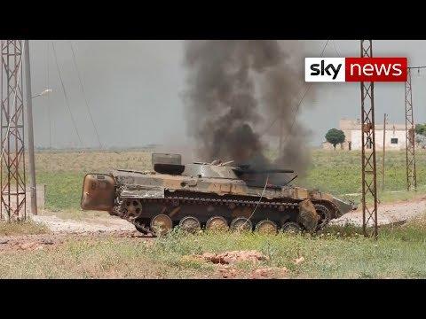 Sky News Witnesses The Horrors Of Idlib
