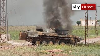 Sky News witnesses the horrors of Idlib