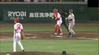 2012/04/05 広島 篠田好投 梵タイムリーで3連勝
